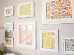 ispirazione per quadri con carta da parati presa da lafigurina.com